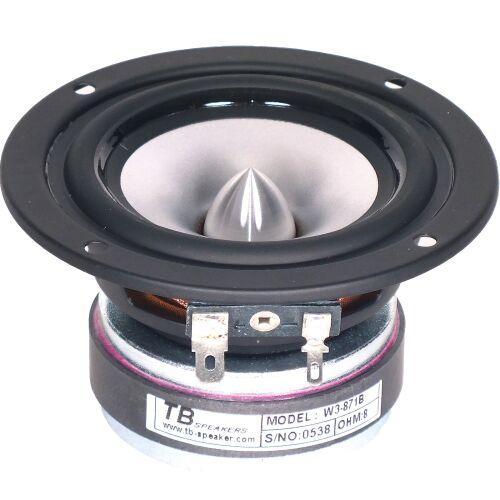 """Tang Band W3-871 B Breitband Lautsprecher Breitbänder 8cm 3"""" 30W 8Ohm 87dB linear"""